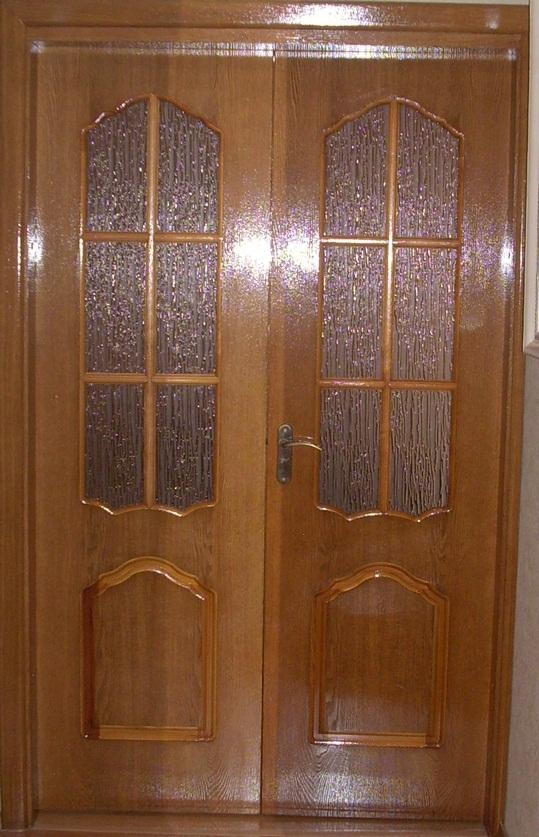 Двери Юркас дорс из натурального шпона дуба