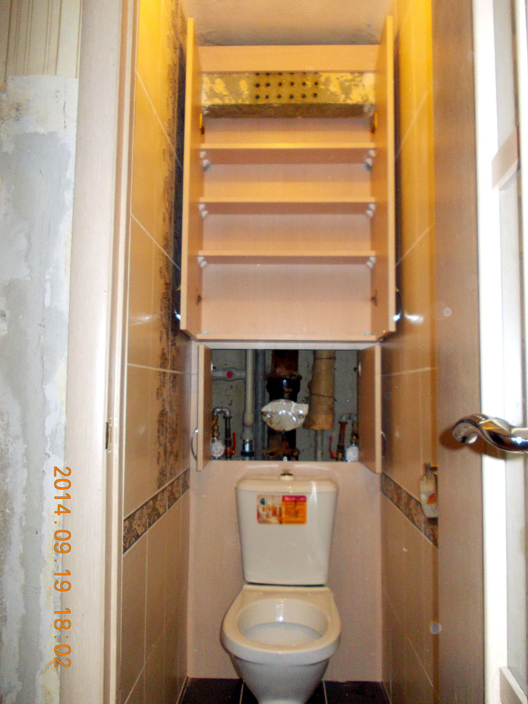 Как своими руками сделать шкафчик в туалете 78