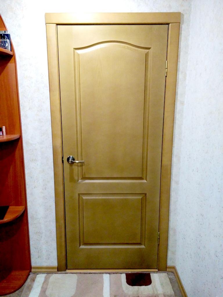 Межкомнатные двери беленый дуб